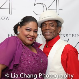 Cynthia Thomas and André De Shields. Photo by Lia Chang