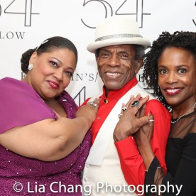Cynthia Thomas, André De Shields and Charlayne Woodard. Photo by Lia Chang