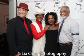 Ken Page, André De Shields, Charlayne Woodard and William McDaniel. Photo by Lia Chang