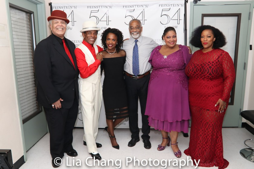 Ken Page, Andre De Shields, Charlayne Woodard, William McDaniel, Cynthia Thomas and Frenchie Davis. Photo by Lia Chang