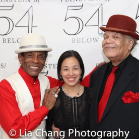 André De Shields, Lia Chang and Ken Page. Photo by Zurin Villaneuva.
