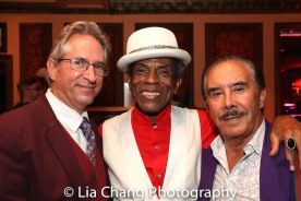 André De Shields and Frank Carucci. Photo by Lia Chang