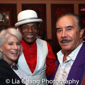 Jamie DeRoy, André De Shields and Frank Carucci. Photo by Lia Chang