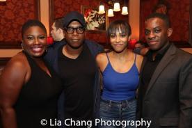 Johmaalya Adelekan, Leslie Odom, Jr., Nicolette Robinson and Tyrone Davis, Jr. Photo by Lia Chang