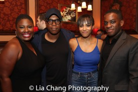 Johmaalya Adelekan, Leslie Odom, Jr., Nicolette Robinson and Tyrone Davis, Jr. Photo by Lia Chang