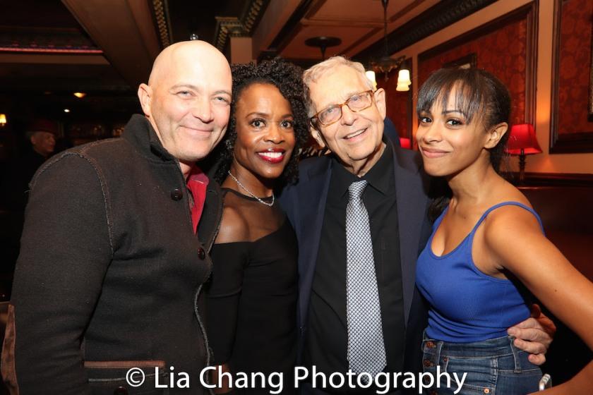 Taylor Mac, Charlayne Woodard, Richard Maltby, Jr. and Nicolette Robinson. Photo by Lia Chang