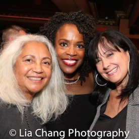 Petra Schein, Charlayne Woodard. Photo by Lia Chang