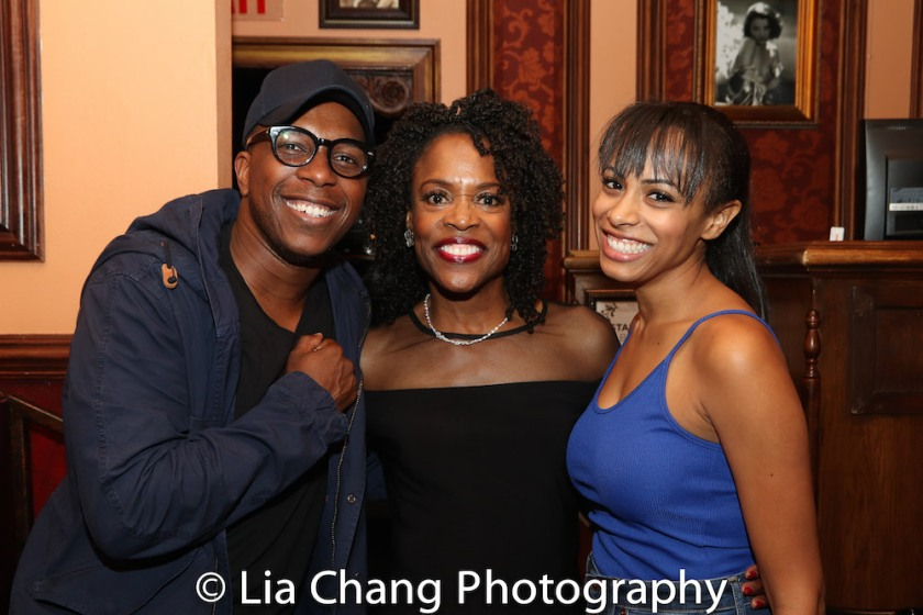 Leslie Odom, Jr., Charlayne Woodard and Nicolette Robinson. Photo by Lia Chang