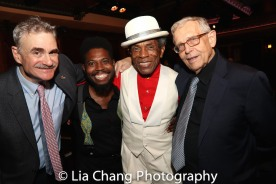 Murray Horwitz, André De Shields and Richard Maltby, Jr. Photo by Lia Chang