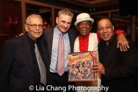 Richard Maltby, Jr., Murray Horwitz, André De Shields and David Alan Bunn. Photo by Lia Chang