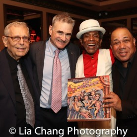 Richard Maltby, Jr., Murray Horwitz, André De Shields and David Alan Bunn. Photo by Lia Chang