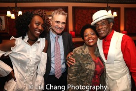 Zurin Villanueva, Murray Horwitz, Rheaume Crenshaw and André De Shields. Photo by Lia Chang