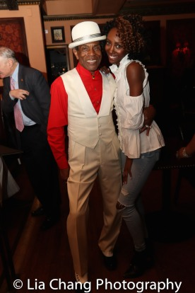 André De Shields and to Zurin Villanueva. Photo by Lia Chang
