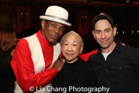 André De Shields, Lori Tan Chinn and Garth Kravits. Photo by Lia Chang