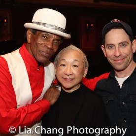 André De Shields, Lori Tan Chinn and Garth Kravits. Photo by Lia Chang