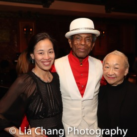 Lia Chang, André De Shields and Lori Tan Chinn. Photo by Garth Kravits