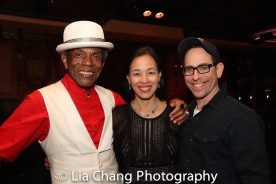 André De Shields, Lia Chang and Garth Kravits. Photo by Lori Tan Chinn