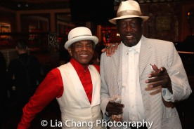 André De Shields and Sir Shadow. Photo by Lia Chang
