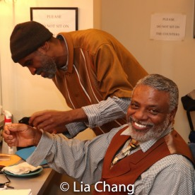 Brian D. Coats and Harvy D. Blanks. Photo by Lia Chang