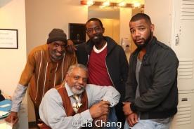Brian D. Coats, Harvy Blanks, Charlie Hudson III and Blake Morris. Photo by Lia Chang