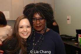Laura Wilson and Elain Graham. Photo by Lia Chang