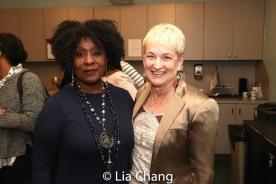 Elain Graham and Terria Joseph. Photo by Lia Chang