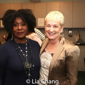 Elain Graham and Terria Joseph. Photo by Lia Chang
