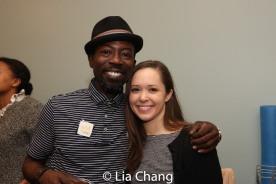 Charlie Hudson III and Laura Wilson. Photo by Lia Chang
