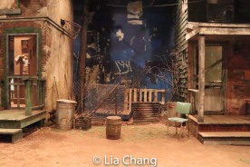 Set design by Michael Carnahan. Photo by Lia Chang