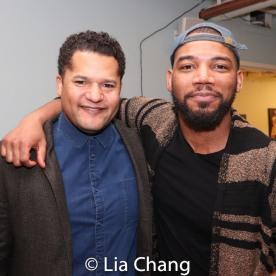 Brandon J. Dirden and Blake Morris. Photo by Lia Chang