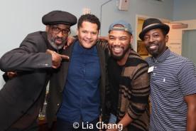 Brian D. Coats, Brandon J. Dirden, Blake Morris and Charlie Hudson III. Photo by Lia Chang