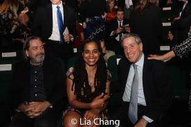 Christian Konopka, Suzan-Lori Parks and Michael Steinberg. Photo by Lia Chang