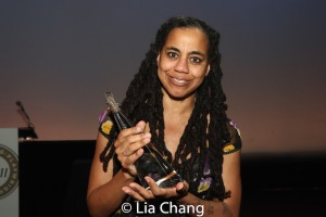 2018 Steinberg Distinguished Playwright Award winner Suzan-Lori Parks. Photo by Lia Chang
