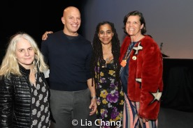 Suzan-Lori Parks and guests. Photo by Lia Chang