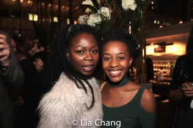 Zainab Jah and Mirirai Sithole. Photo by Lia Chang