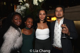 Zainab Jah, Mirirai Sithole, Amelia Workman and Timothy Naylor. Photo by Lia Chang