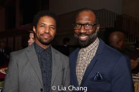 Amari Cheatom and Russell G. Jones. Photo by Lia Chang