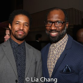 Amari Cheatom and Russell G. Jones. Photo by Lia Chang