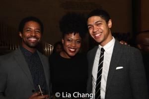 Amari Cheatom, Gillian Glasco and Reynaldo Piniella. Photo by Lia Chang