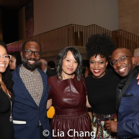 Crystal A. Dickinson, Russell G. Jones, Elz Cuya Jones, Gillian Glasco, Alfonzo Johnson. Photo by Lia Chang