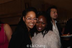 Crystal A. Dickinson and Zainab Jah. Photo by Lia Chang