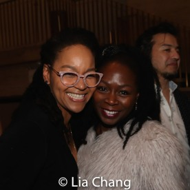 Crystal A. Dickinson and Zainab Jah. Photo by Lia Chang