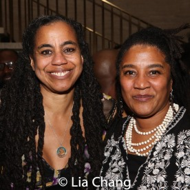 Suzan-Lori Parks and Lynn Nottage. Photo by Lia Chang