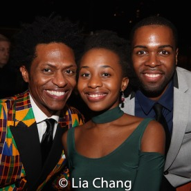 J. Cameron Barnett, Mirirai Sithole and Donovan Mitchell. Photo by Lia Chang