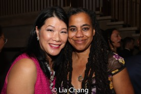 Nadine Wong and Suzan-Lori Parks. Photo by Lia Chang