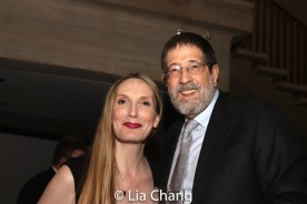Deborah Martin and James. D. Steinberg. Photo by Lia Chang