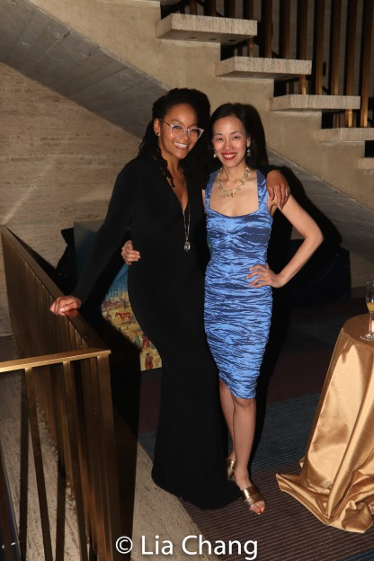 Crystal A. Dickinson and Lia Chang. Photo by Garth Kravits