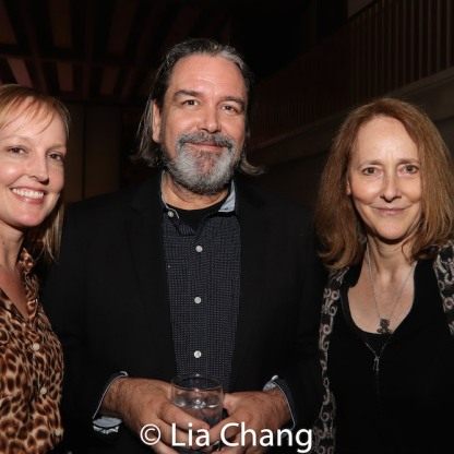 Beth Whitaker, Christian Konopka and Jo Bonney. Photo by Lia Chang