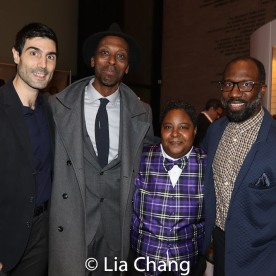 Louis Cancelmi, Julian Rozzell, Jr.Patrena Murray, Russell G. Jones. Photo by Lia Chang