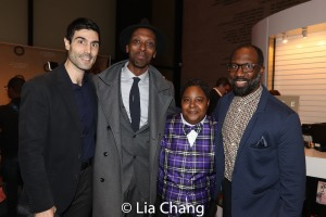 Louis Cancelmi, Julian Rozzell, Jr.Patrena Murray, Russell G. Jones. Photo by Lia Chang